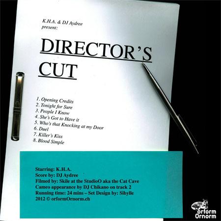 Director's Cut | K.H.A. & DJ Aydree